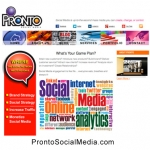 New website developed for a Social Media Company.